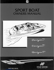 four winns horizon 170 owner s manual pdf download rh manualslib com four winns 205 sundowner manual four winns 205 sundowner manual