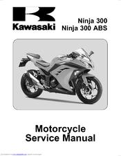 KAWASAKI NINJA 300 SERVICE MANUAL Pdf Download. on