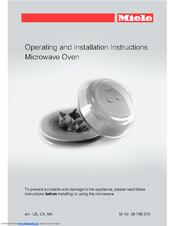 Miele M 6260 Tc Manuals