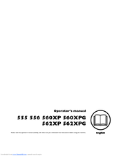 Husqvarna 560XPG Operator's Manual