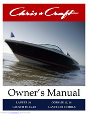chris craft lancer 20 owner s manual