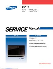 samsung hls5087wx xaa manuals rh manualslib com