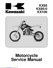 kawasaki kx85 service manual pdf download rh manualslib com CR 85 2006 2006 kx 85 owners manual