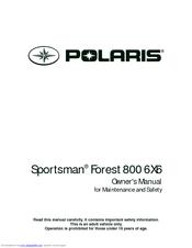 polaris sportsman big boss 6x6 800 efi manuals rh manualslib com 2006 polaris sportsman 800 owners manual pdf 2006 polaris sportsman 800 service manual pdf