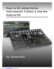 native instruments kontrol s4 manuals rh manualslib com native instruments traktor kontrol s4 manual traktor s2 manual