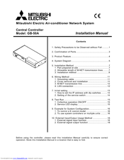 Mitsubishi Electric Central Controller GB-50A Installation Manual