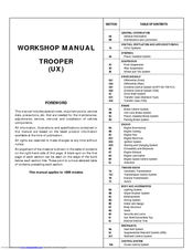 1997 isuzu trooper repair manual pdf