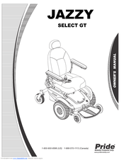 pride mobility jazzy select gt manuals rh manualslib com jazzy select gt charger manual Jazzy Select GT Specifications