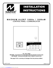 napco magnum alert 1008e manuals rh manualslib com Magnum Alert 1000 Series Reset Alarm Keypad