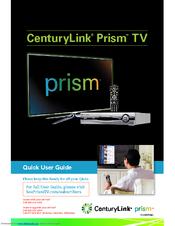 centurylink prism tv manuals