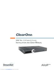 clearone view pro e120 manuals rh manualslib com User Guide Template Online User Guide