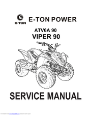 e ton viper 90 manuals  starter button not working, solenoid