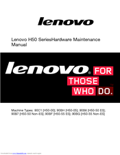 Lenovo H50-55 Non-ES Hardware Maintenance Manual