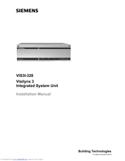 Siemens VIS3I-328 Installation Manual