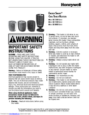 Honeywell Energy Smart HZ-7200 Series Important Safety Instructions Manual