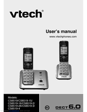 vtech cs6519 2 manuals rh manualslib com vtech phone manual cs6919 vtech phone manual cs6519-2