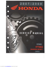 honda vt750c2 shadow spirit manuals rh manualslib com 2007 honda shadow repair manual 2007 honda shadow 1100 owners manual