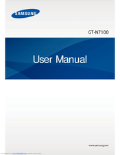 Samsung GT-N7105 User Manual