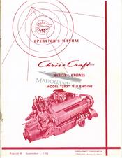 chris craft 283 v 8 engine operator s manual pdf download rh manualslib com Chris Craft Exhaust Parts Chris Craft 283 Engine Conversion