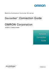 OMRON 3G3RX-V1 SERIES CONNECTION MANUAL Pdf Download