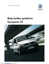 Volkswagen Transporter T5 Manuals