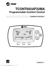 Trane tcont602af22ma manuals trane tcont602af22ma installation instructions manual sciox Choice Image