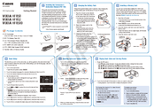 Canon VIXIA HF R52 Getting Started Manual