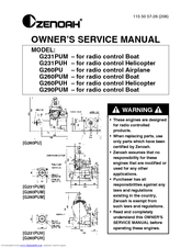 zenoah g260pu manuals rh manualslib com Zenoah G26 Zenoah Engines