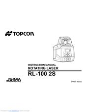 topcon rl 100 2s manuals rh manualslib com Instruction Manual Book User Manual Template