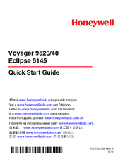Honeywell Voyager 9520 Quick Start Manual