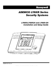 ademco lynxr24 manuals rh manualslib com honeywell lynxr user manual ademco lynxr programming manual