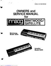 MOOG MINITMOOG 300A OWNER'S SERVICE MANUAL Pdf Download