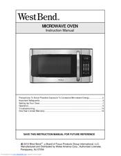 West Bend Em031 Ezc X1 Manuals Manualslib