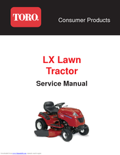 toro xl lawn tractor service repair workshop manual