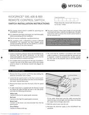 myson kickspace 600 manuals. Black Bedroom Furniture Sets. Home Design Ideas