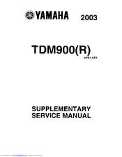 yamaha tdm manual