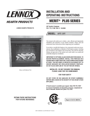 lennox hearth products mpe 36r manuals rh manualslib com lennox hearth fireplace manuals lennox electric fireplace manual