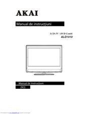 akai ald 1910 manuals rh manualslib com Sony DVD VCR Combo akai tv dvd combo manual