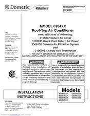 Dometic 620415 331 Manuals