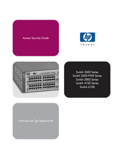 HP 2600-PWR Series Manual