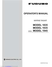 Furuno 1935 Manuals