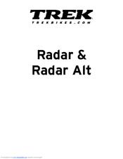 trek radar user manual pdf download rh manualslib com Trek Incite 9I Manual Trek Incite Odometer for Bicycles Manual