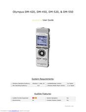 olympus dm 520 ultimate recording combo manuals rh manualslib com