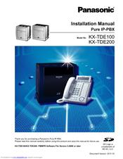 panasonic kx tde200 manuals rh manualslib com panasonic kx tde200 user manual panasonic kx-tde200 installation manual