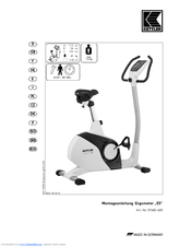 kettler exercise bike instructions