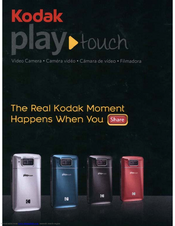 kodak play touch user manual pdf download rh manualslib com Kodak Brownie Camera EasyShare M750