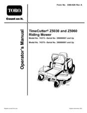 toro timecutter z5030 operator's manual pdf download toro wheel horse schematics toro model 74373 wiring diagram #22