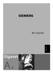 Siemens Gigaset A2 инструкция на русском - фото 10