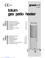 patio heater assembly instructions