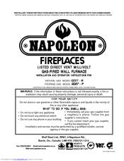 Napoleon Gd27 N Manuals Manualslib